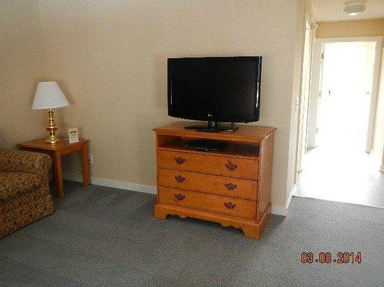 Massanutten Resort : living room TV