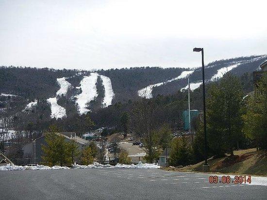 Massanutten Resort : ski slopes