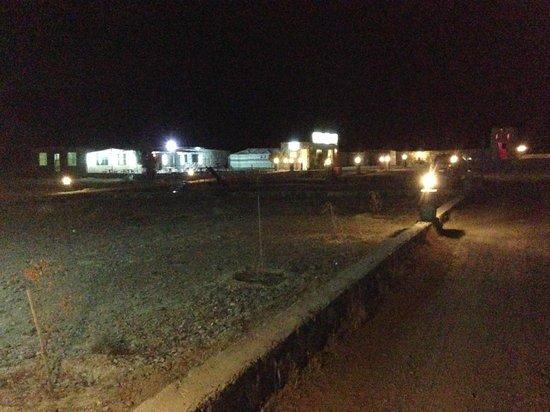Jabal Shams Heights Resort: @night