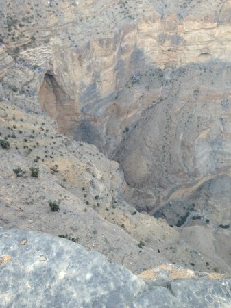 Jabal Shams Heights Resort: Grand Canyon