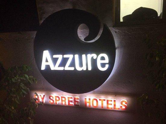 Azzure By Spree Hotels : ENTRANCE