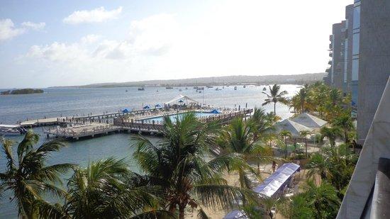 GHL Relax Hotel Sunrise: vista da varanda do 3o andar