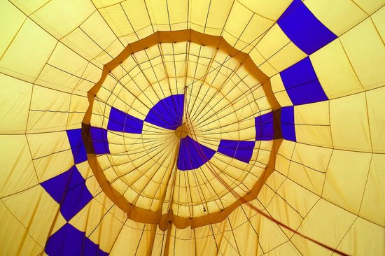 Red Rock Balloons : Inside the balloon