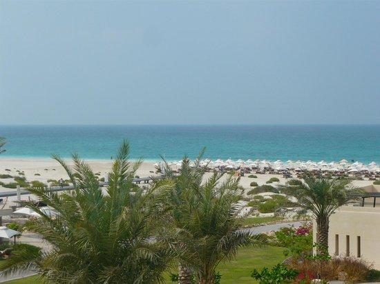 Park Hyatt Abu Dhabi Hotel & Villas : Sea view in the luxe