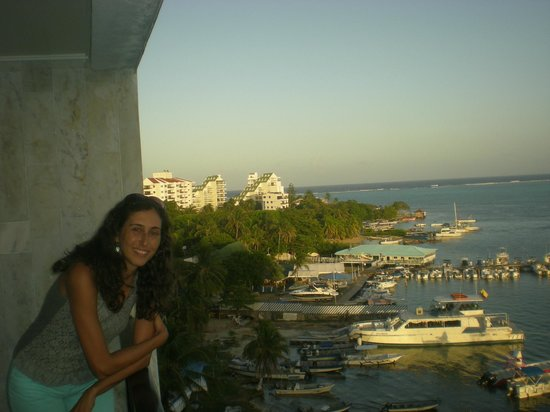 GHL Relax Hotel Sunrise : vista da varanda no 5o andar