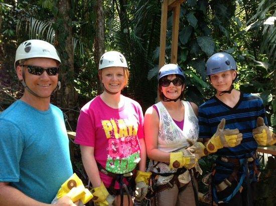 Belize Jungle Masters: Zip Line fun