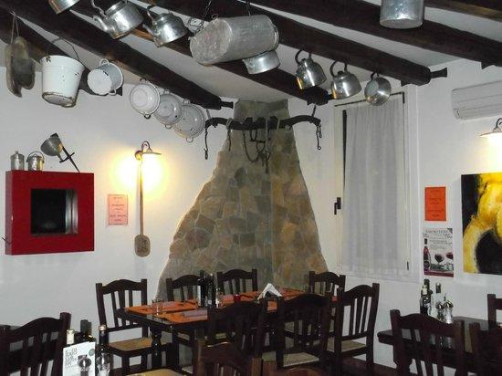 Osteria Turlonia: particolare sala