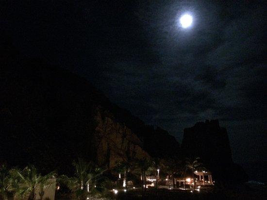 Grand Solmar Land's End Resort & Spa: Midnight moon!