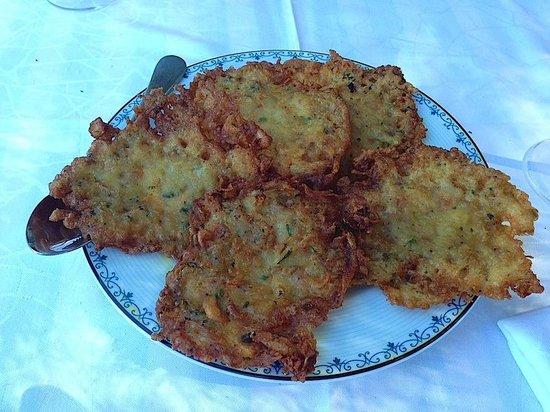 Restaurante Toruno: Tortitas de camarones!!!