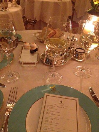 The Ritz London : Dinner