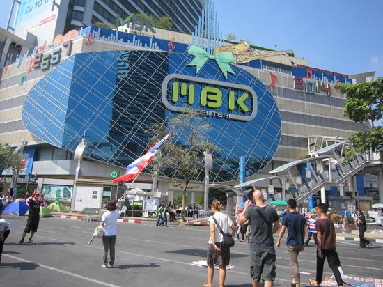 LiT BANGKOK Hotel : mbk shopping centre close to hotel