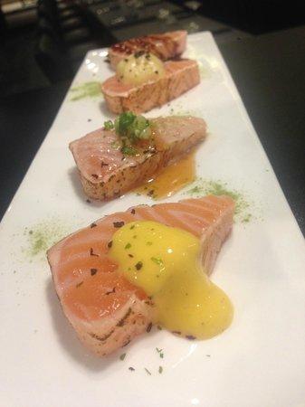 Maruya Dining Japanese : Tataki de Saumon