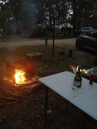 Kosciuszko Tourist Park: Relaxing