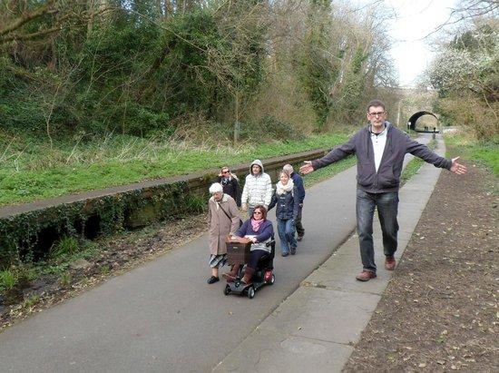 Weymouth Portland Railway Walk: At the station