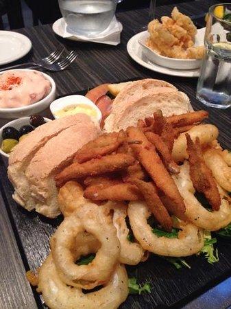Vida : seafood sharing platter