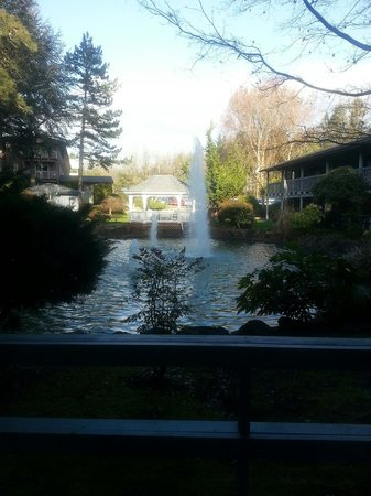 Shilo Inn Hotel & Suites - Beaverton: Courtyard from #133
