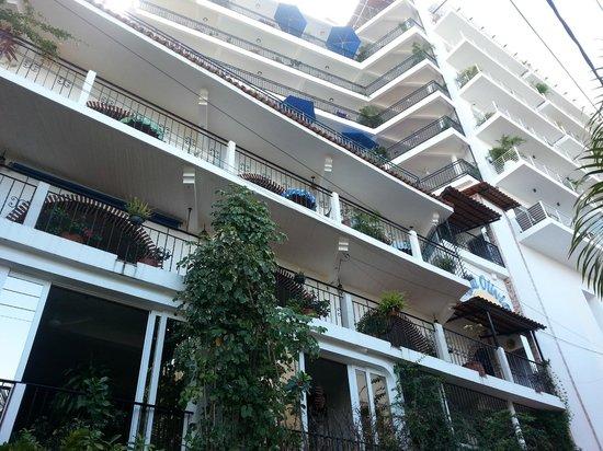 Villa Olivia: View from 4th Floor Terrace