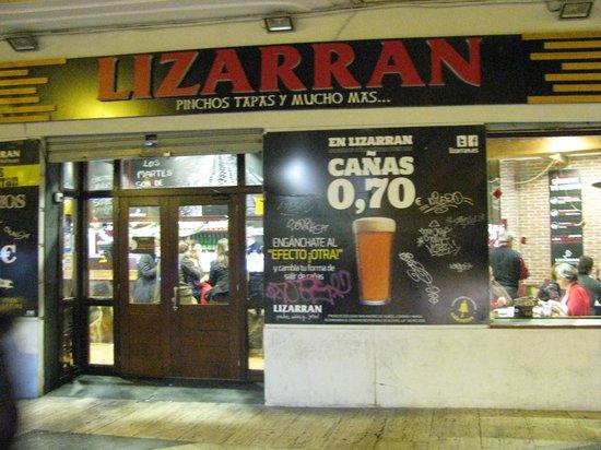 Lizarran : Ingresso