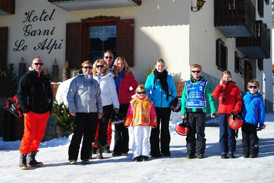 Hotel Alpi: Our stay with friends and family