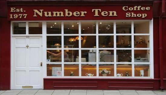 Image result for number 10 coffee shop bury