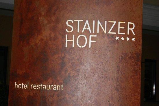 Hotel Stainzerhof: targa