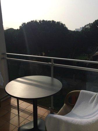 Carnac Thalasso & Spa Resort Hotel : terrasse de la chambre