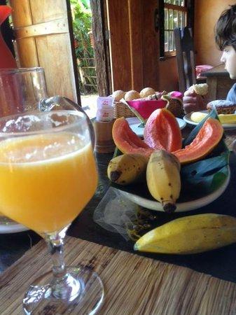 Le Gite D' Indaiatiba: petit dej exotique