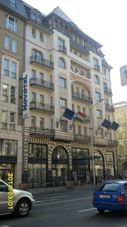 Novotel Budapest Centrum: hotel