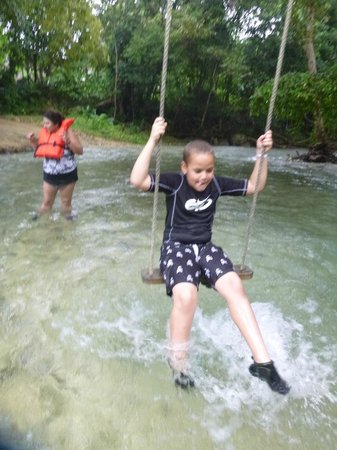 White River: Swing break