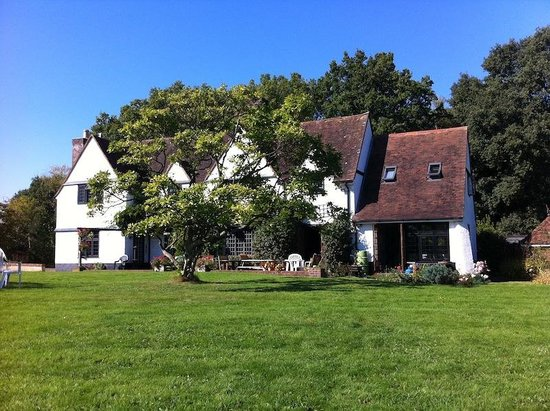 Little Gables : The house from the bottom of the garden, one beautiful October day