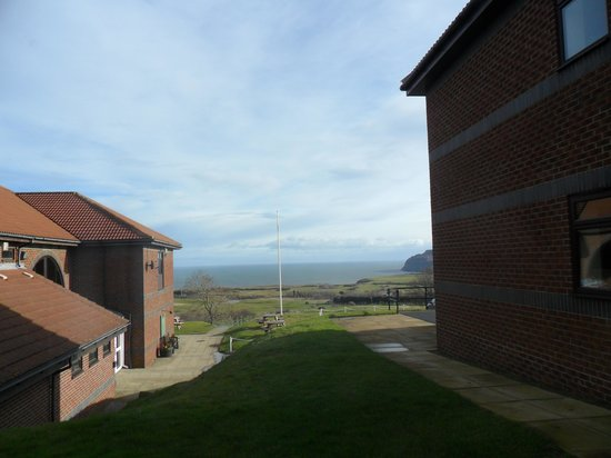 Hunley Hotel and Golf Club: View from Room 7