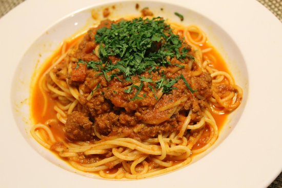 Park Plaza County Hall London : Spaghetti Bolognese