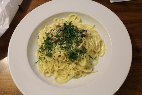 Park Plaza County Hall London : Spaghetti Carbonara
