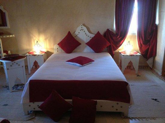 Dar Loubna : Rien de mieux qu'une belle chambre pour bien dormir...