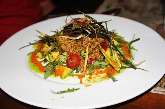 Yemanja Woodfired Grill: Yoga Girls Mediterranean Quinoa Salad ... delicious!