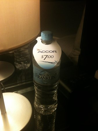 Novotel Sydney Parramatta: $7 for a bottle of water .... seriously???
