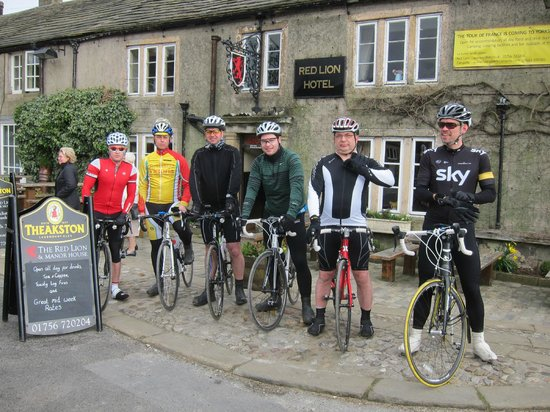 Red Lion Hotel: The team at the Red Lion