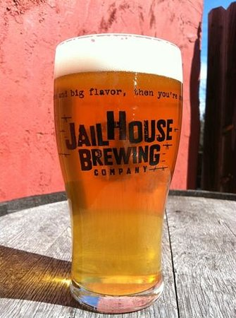 JailHouse Brewing Company: Tour glass full of Jailhouse Beer.