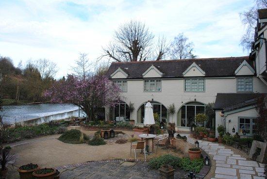 Mr Underhill's at Dinham Weir: and then imagine a warm summer's evening....
