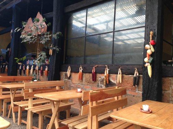 Rincon Tipico Dining Area