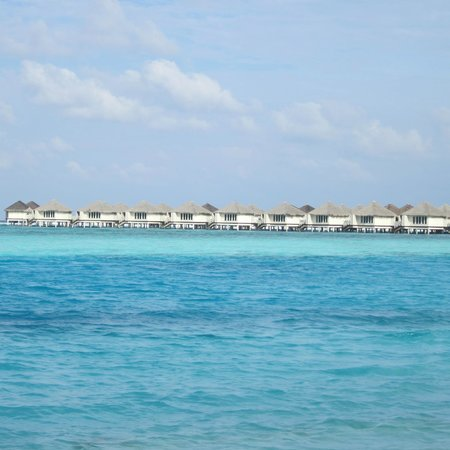 view from our deck picture of cinnamon dhonveli maldives. Black Bedroom Furniture Sets. Home Design Ideas