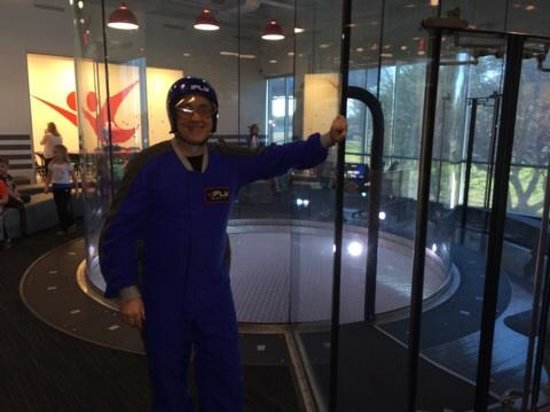 iFLY Indoor Skydiving - Austin: Ready to fly!