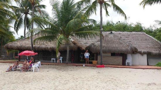Pousada Barra Velha: pousada vista da praia