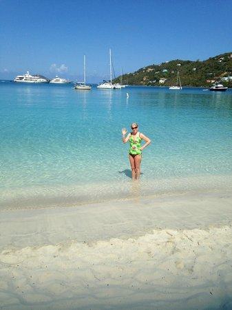 Flamboyan on the Bay Resort & Villas: Magens Bay Beach