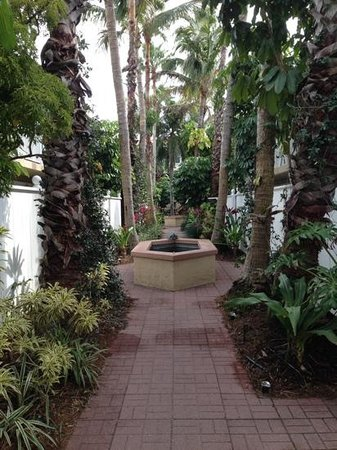 Tortuga Beach Resort: The walkway in front of our unit.  So pretty!