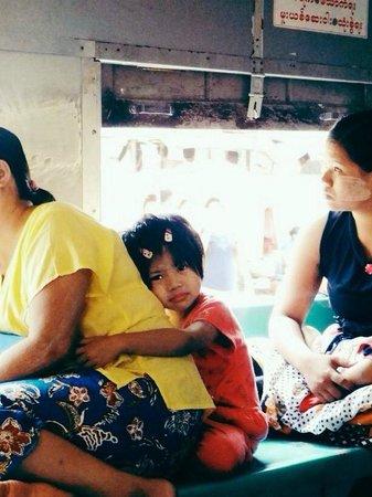 Yangon Circular Train: Riding the Yangon circle train