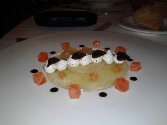 L'Auberge de la Brie : Carpaccio