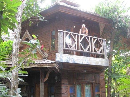 Phu Pha Ao Nang Resort and Spa: Balcony