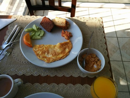 Gul Sultan Hotel : breakfast options
