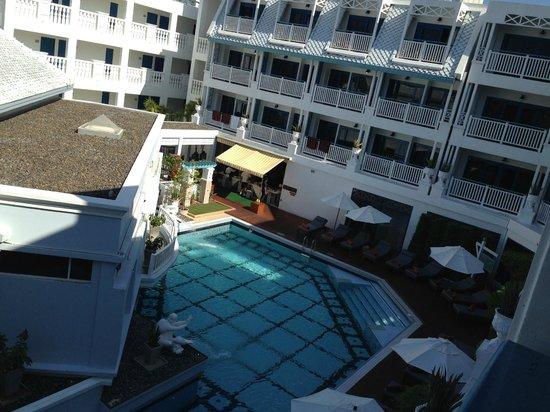 โรงแรมอันดามัน ซีวิว: Вид с балкона
